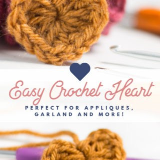 Easy Crochet Heart Pattern Free