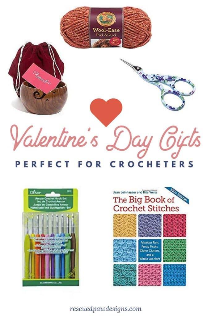 Crochet Valentine's Day Gifts