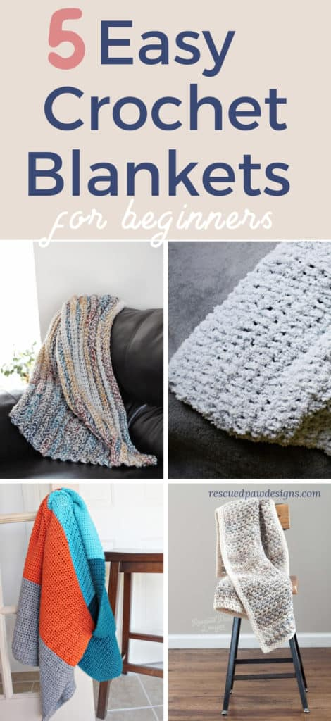 Easy Crochet Blankets for Beginners