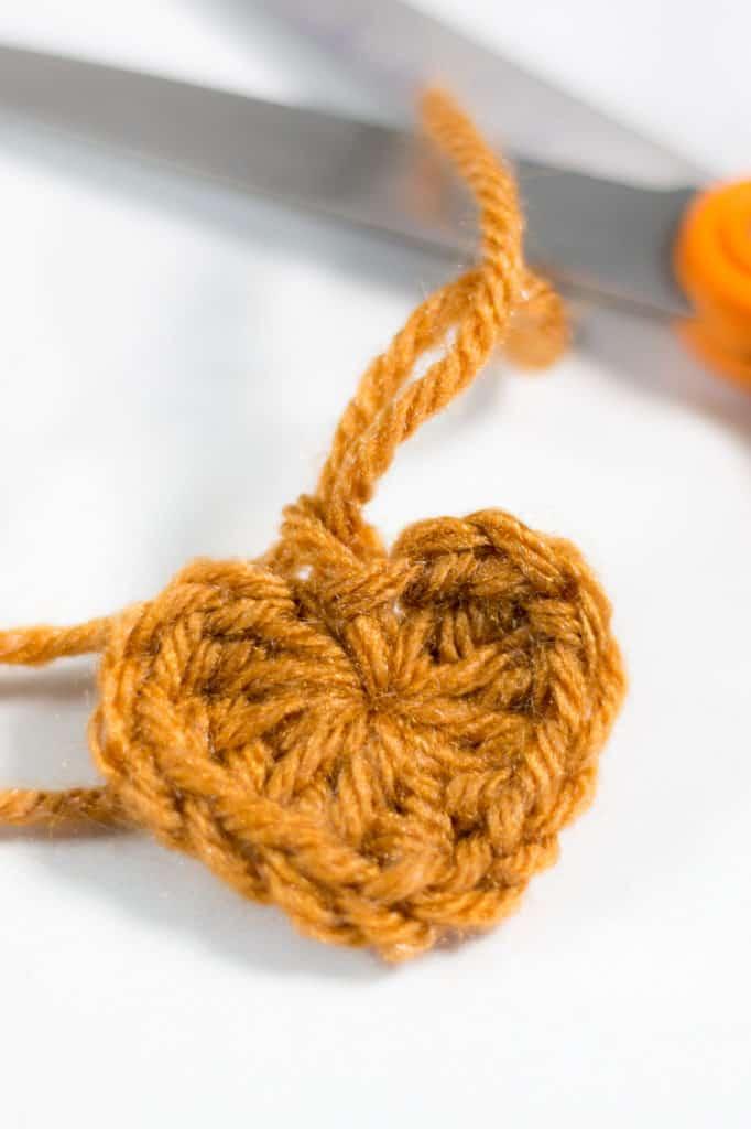 Crochet Mini Heart