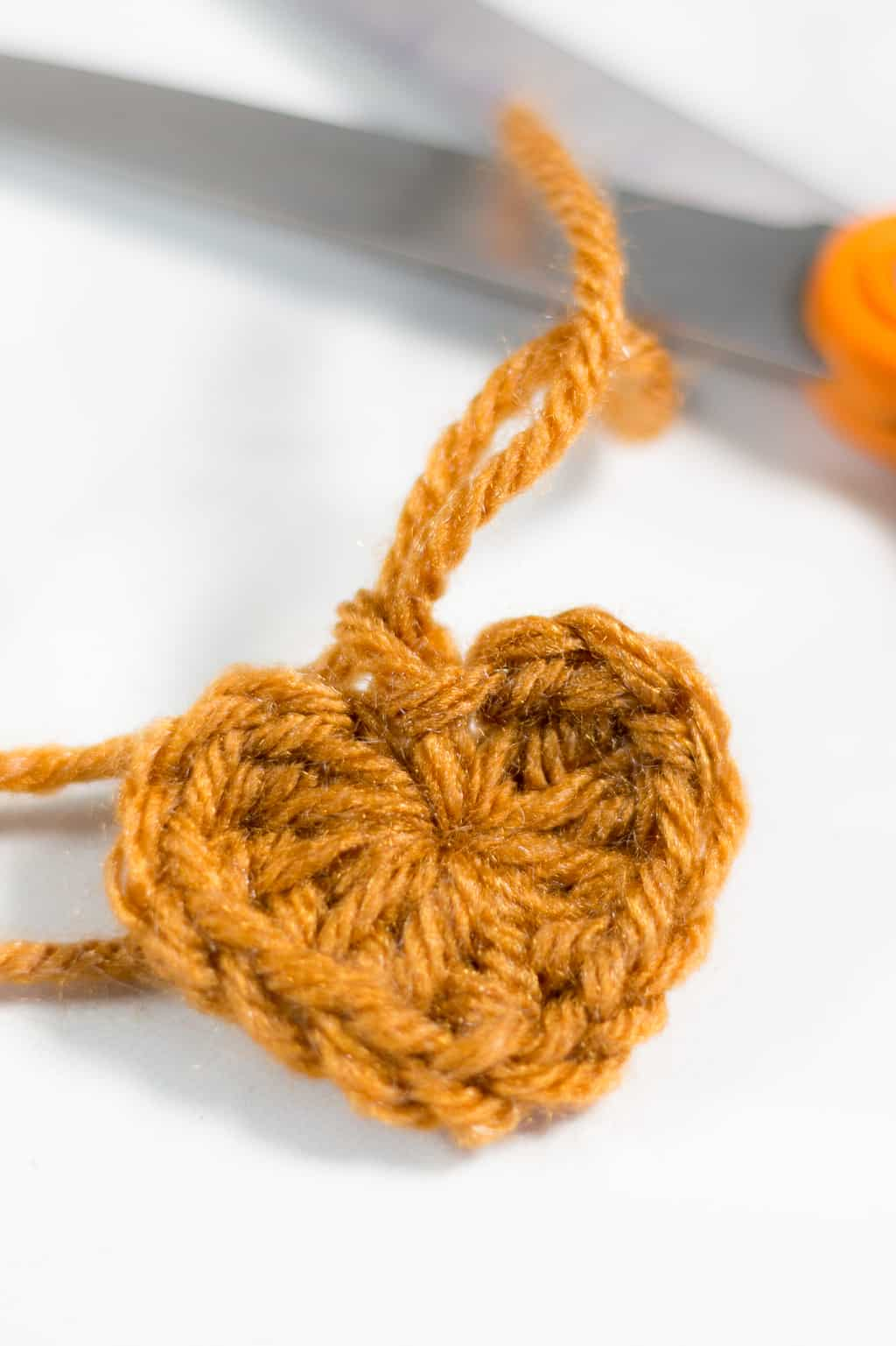 Crochet Mini Heart