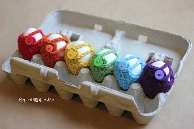 free crochet pattern for Easter Egg Cover