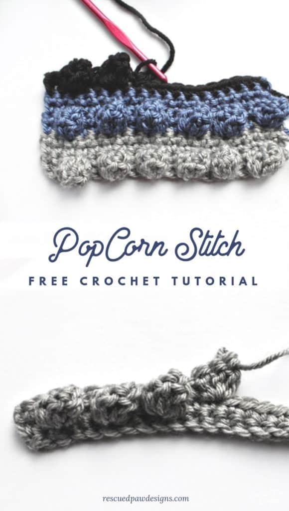 Crochet Popcorn Stitch