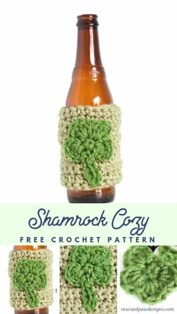 Crochet Shamrock Cozy Pattern