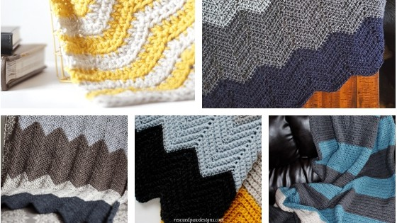 Baby Afghan Patterns using Vanna's Choice by Lion Brand Yarn