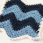 Chevron Dishcloth Crochet Pattern