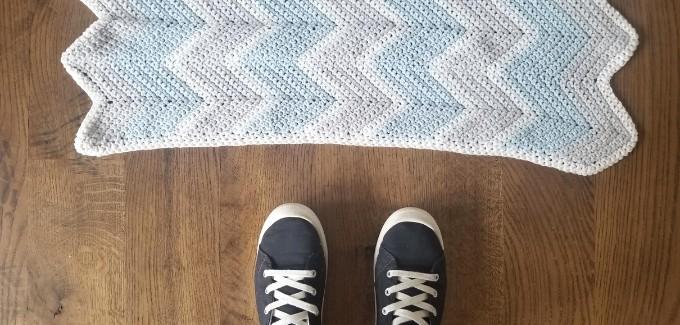 Baby Chevron Crochet Blanket Pattern