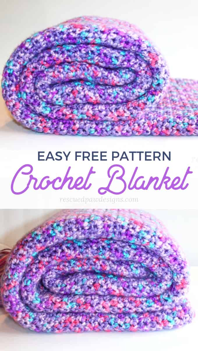 Single Crochet Blanket Beginner Pattern