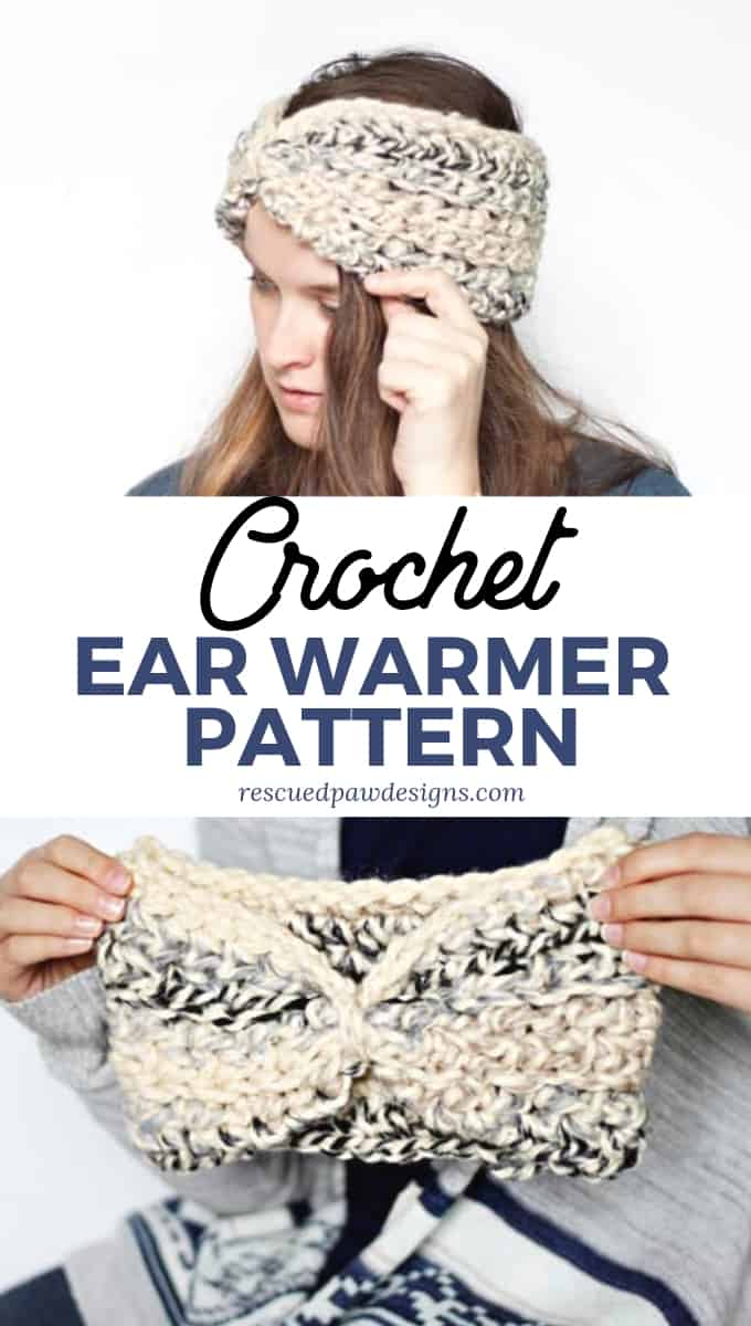Easy Ear Warmer Crochet Pattern