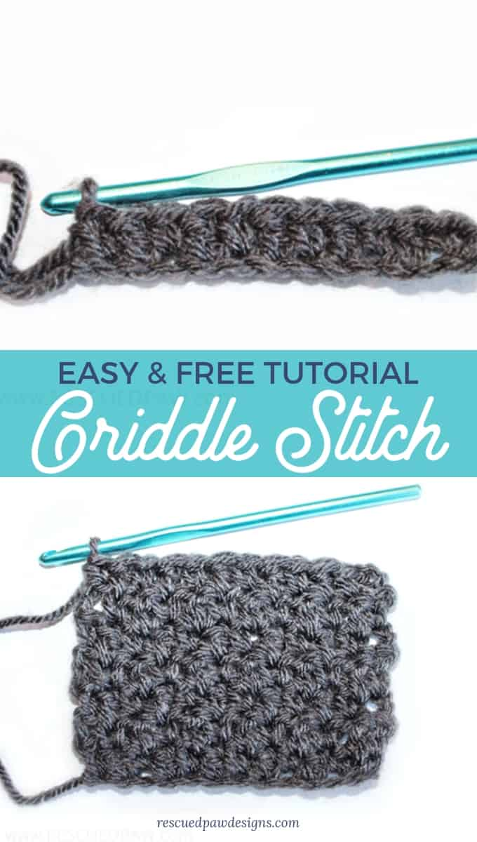 How to Crochet Griddle Stitch
