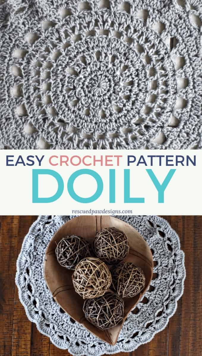 Easy Crochet Doily for beginners