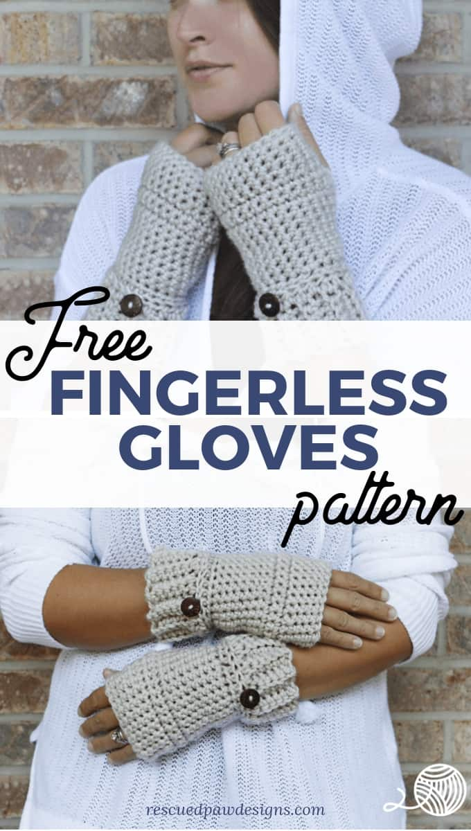 Free Crochet Fingerless Glove Pattern