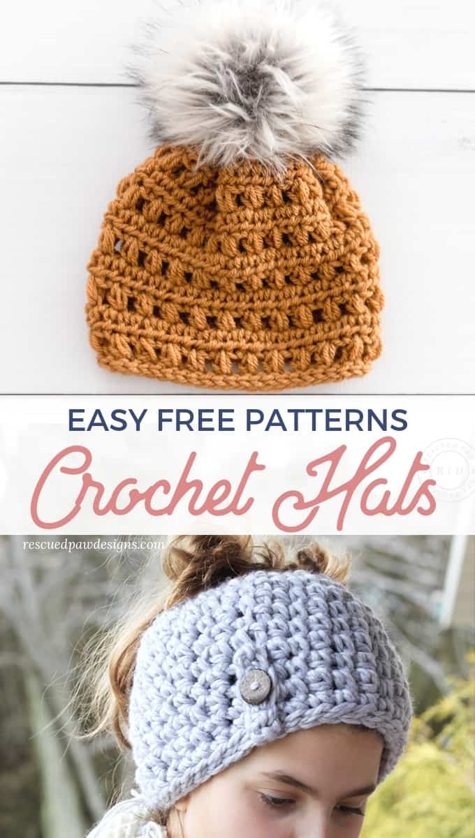 Easy Crochet Hat patterns