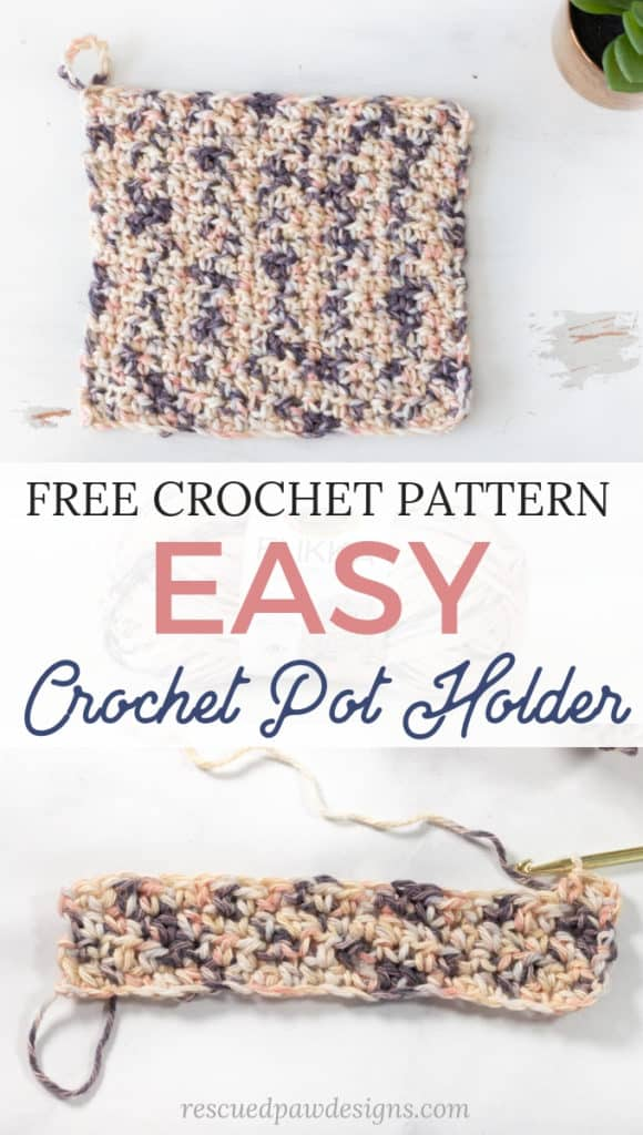 How to Crochet Pot Holders