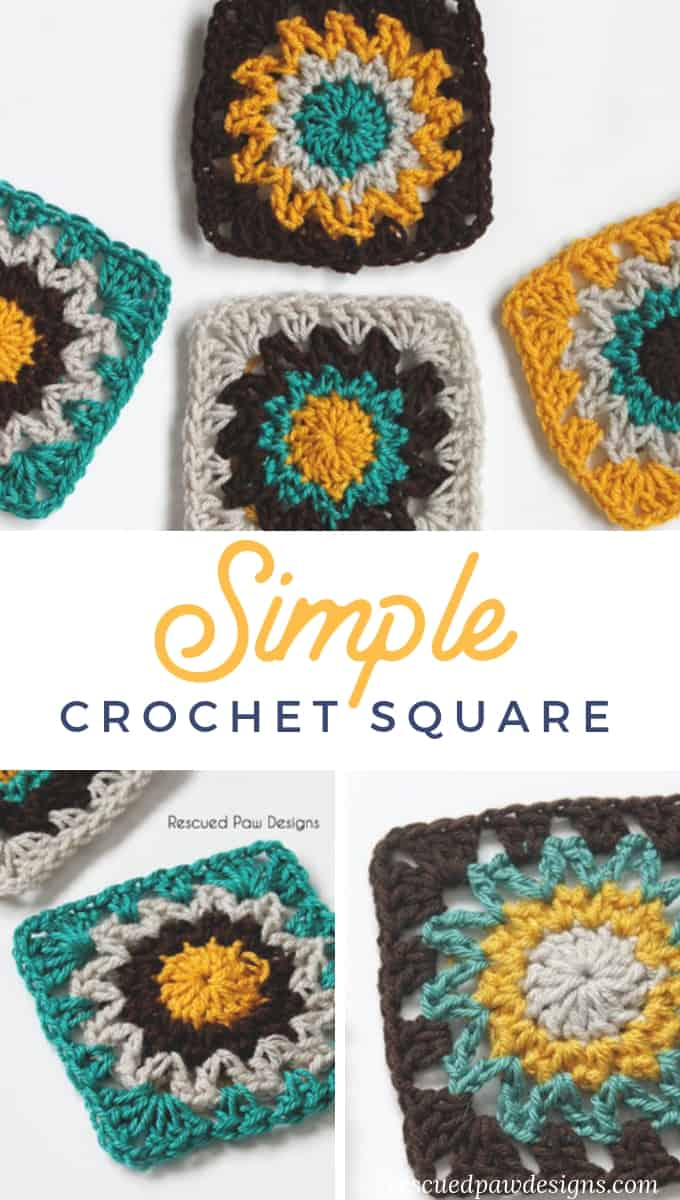 Crochet Squares Pattern