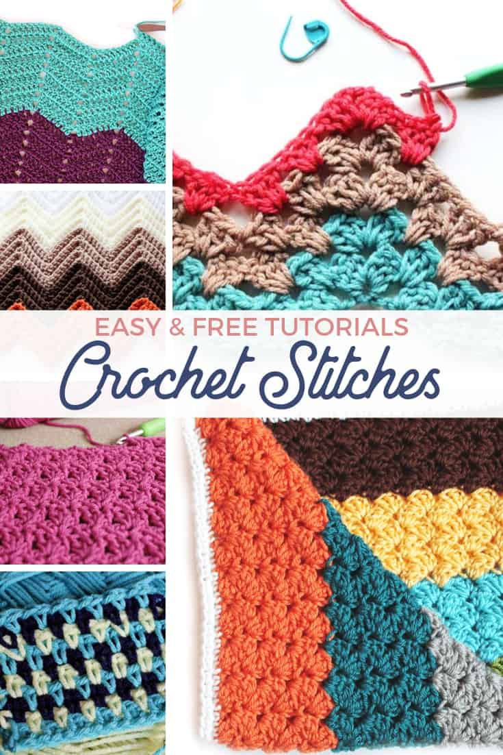 crochet blanket stitch ideas