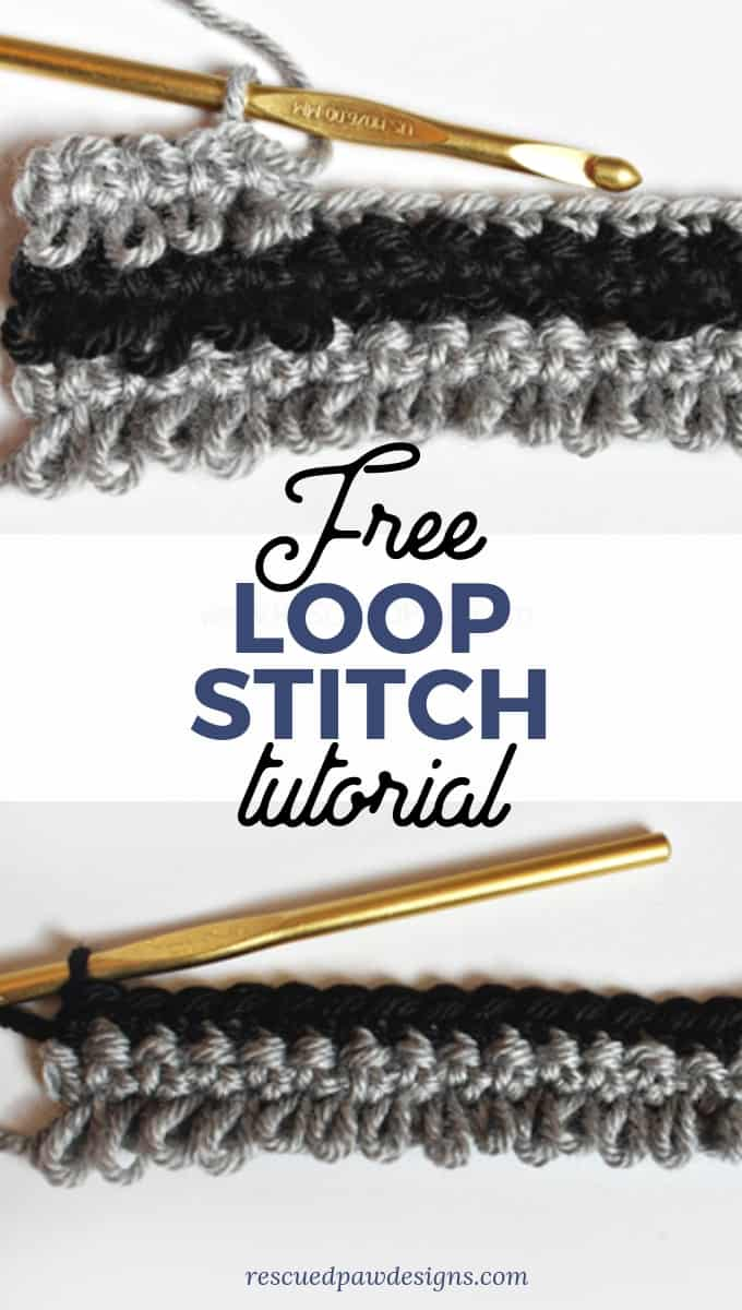 Crochet Loop Stitch Tutorial