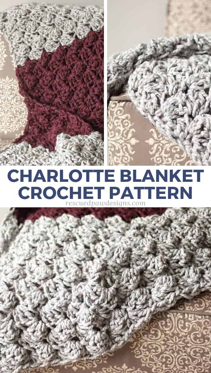 Chunky Yarn Crochet Blanket