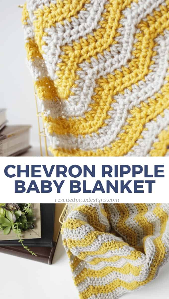 ripple crochet baby blanket pattern