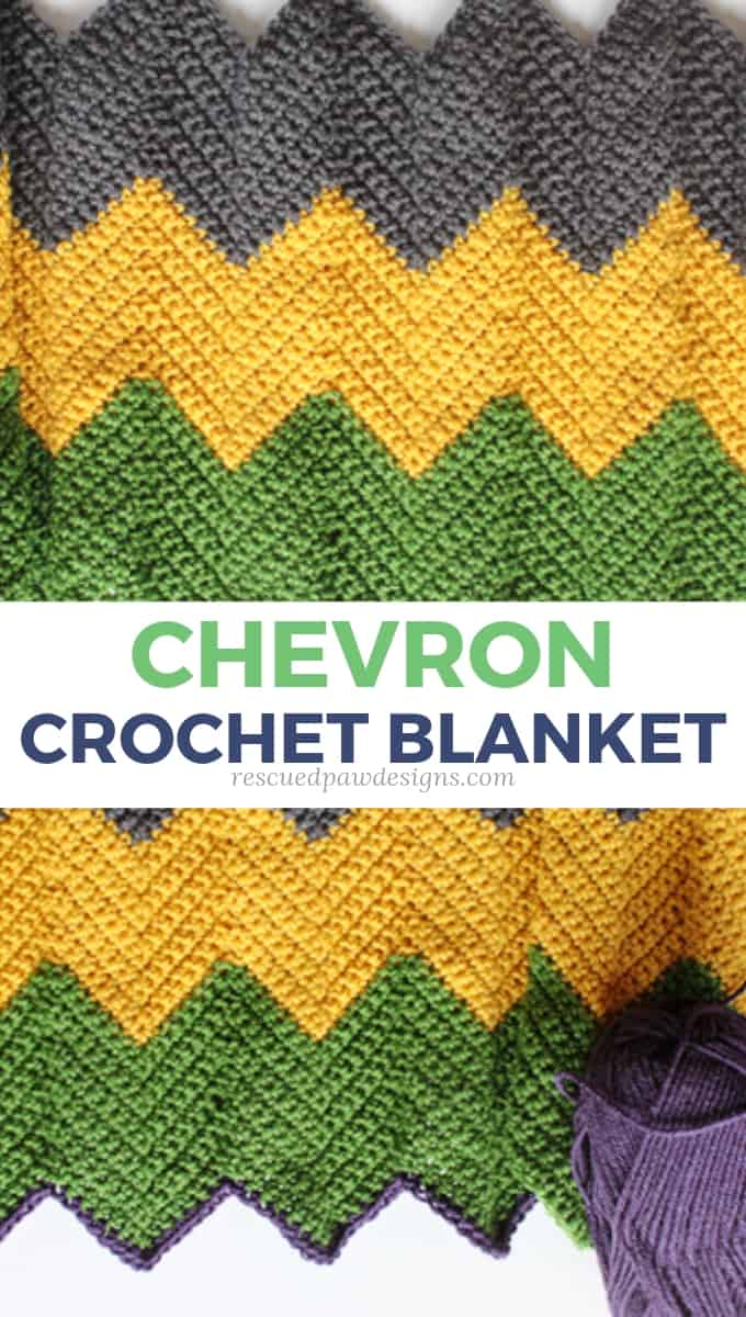 Colorful Blanket Chevron Pattern