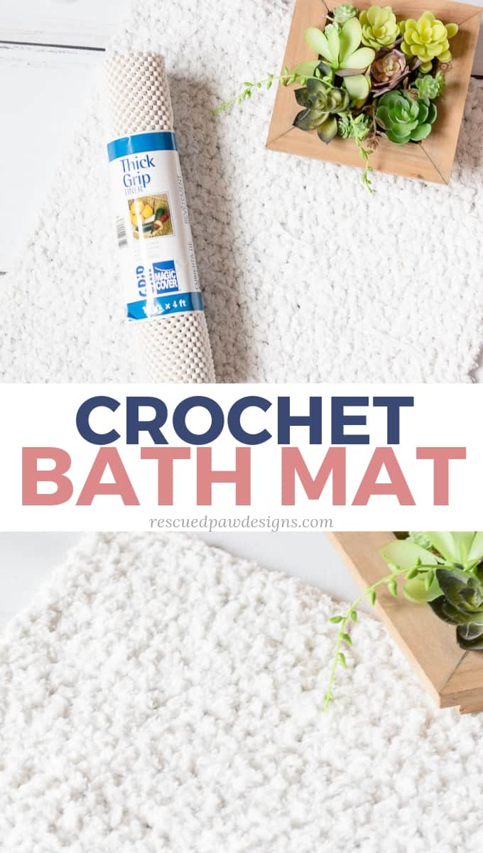 crochet bath mat pattern free