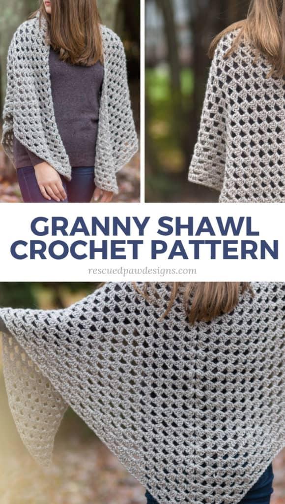 Granny Shawl Pattern Free