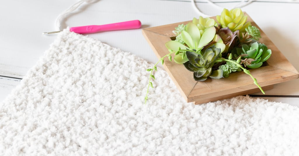 Non Slip Crochet Bath Mat