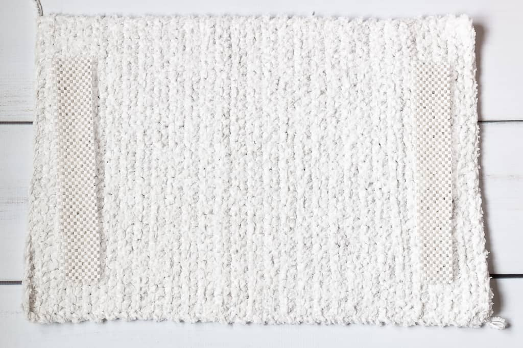 Easy Crochet Bath Mat Pattern