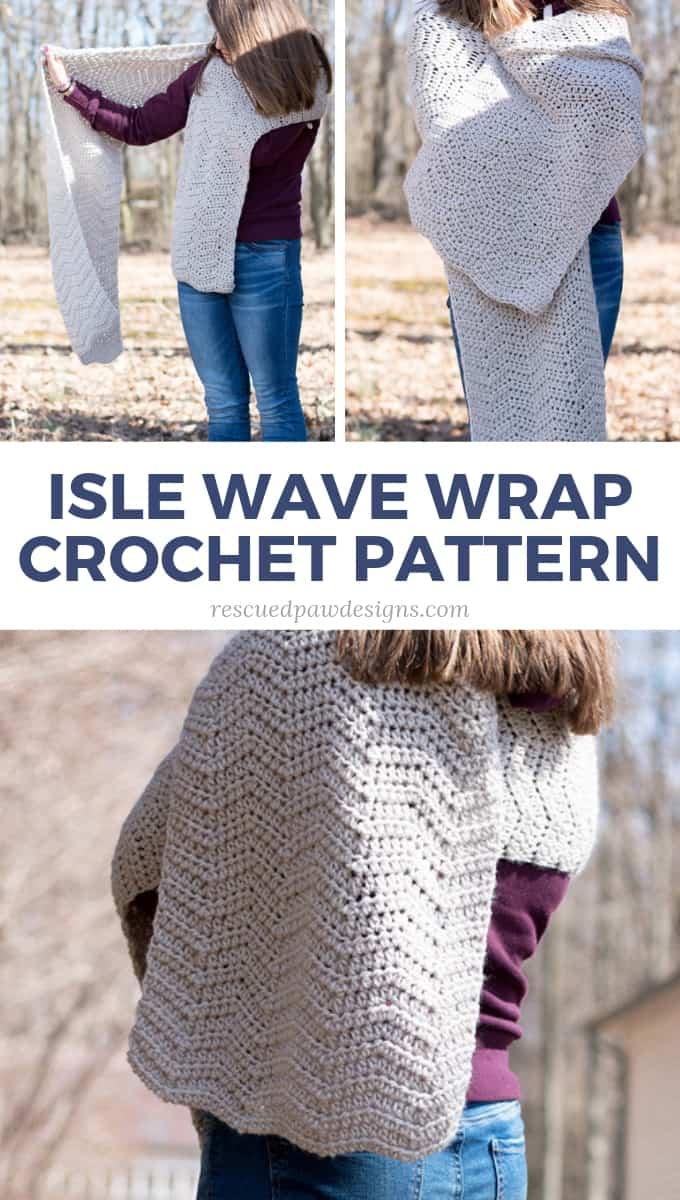 Chevron Crochet Wrap Pattern