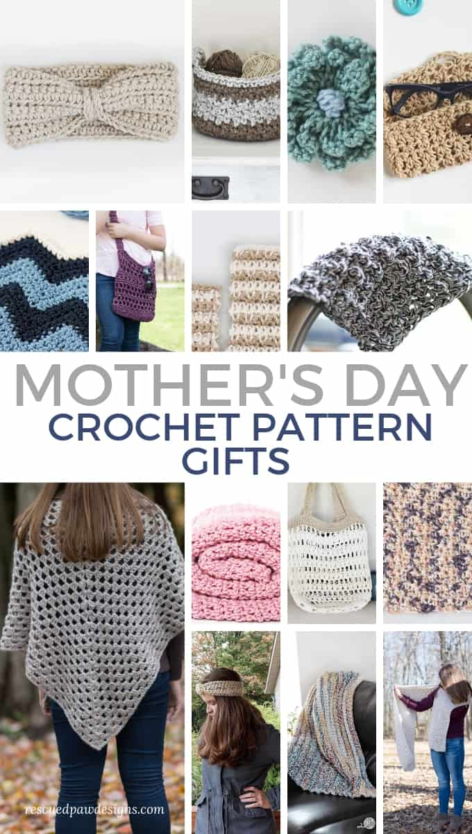 Mother's Day Gifts Free Crochet Patterns