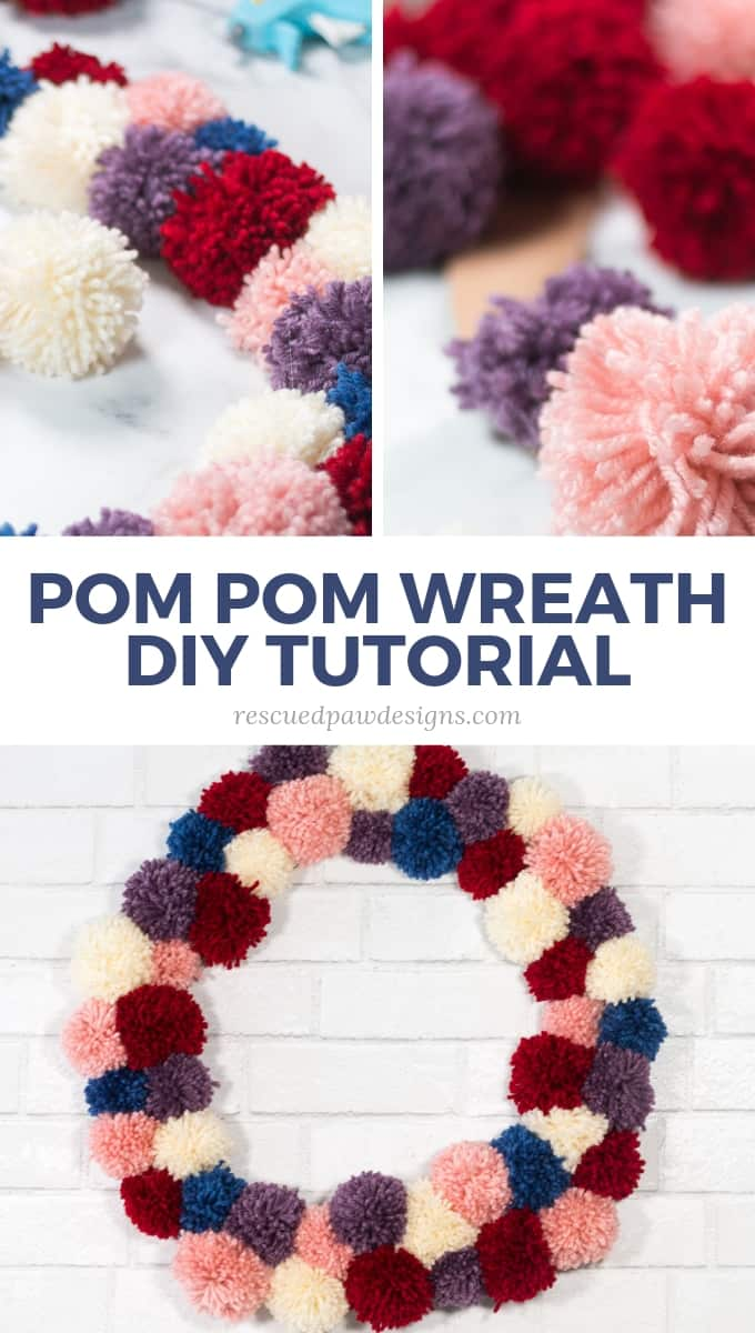 DIY Pom Pom Wreath Pattern