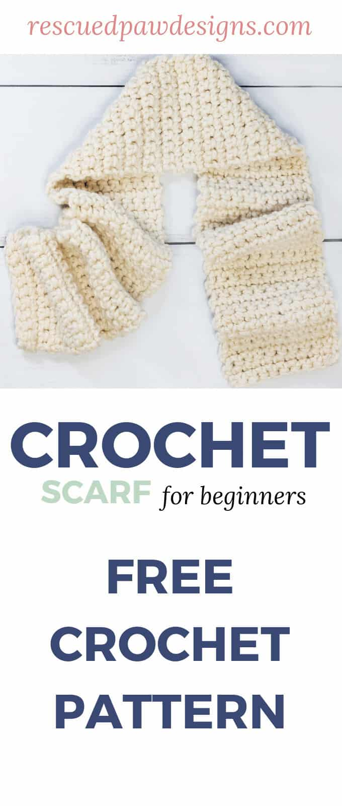 How to Crochet A scarf for beginners