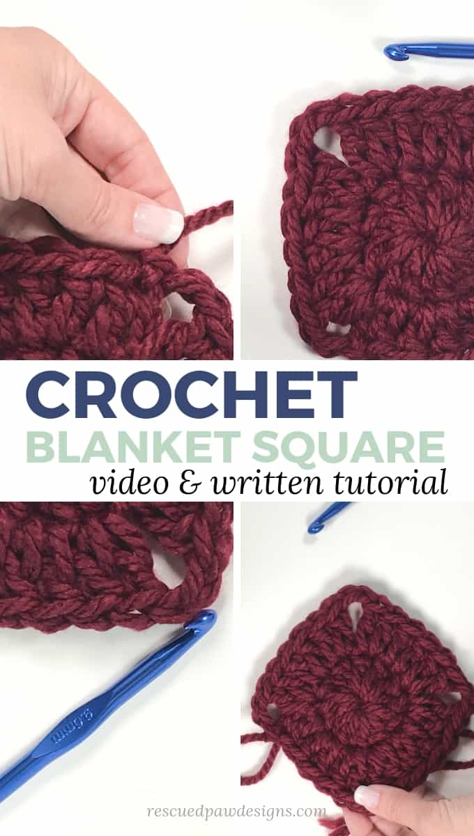 Crochet Square tutorial