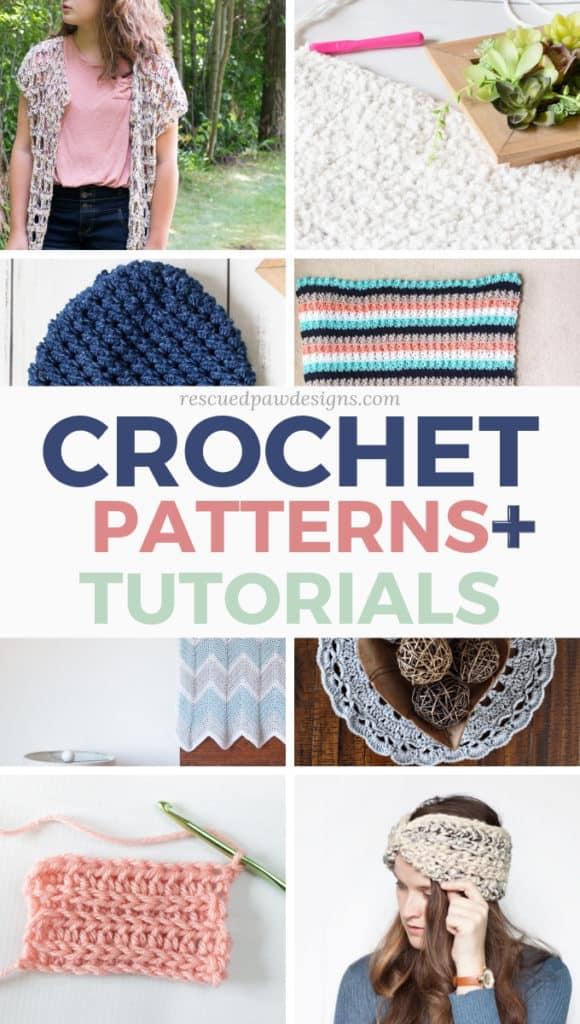 Free Crochet Patterns & Tutorials