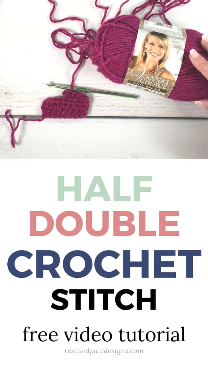 Half Double Crochet Video You tube