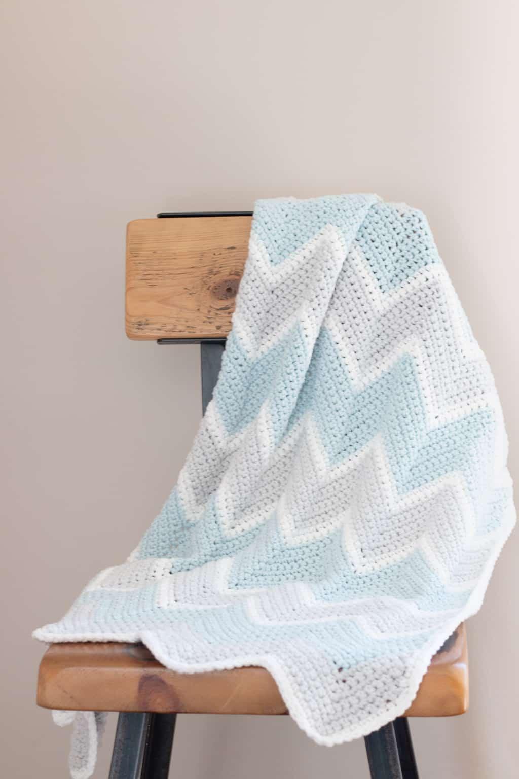 Baby Chevron Blanket Pattern
