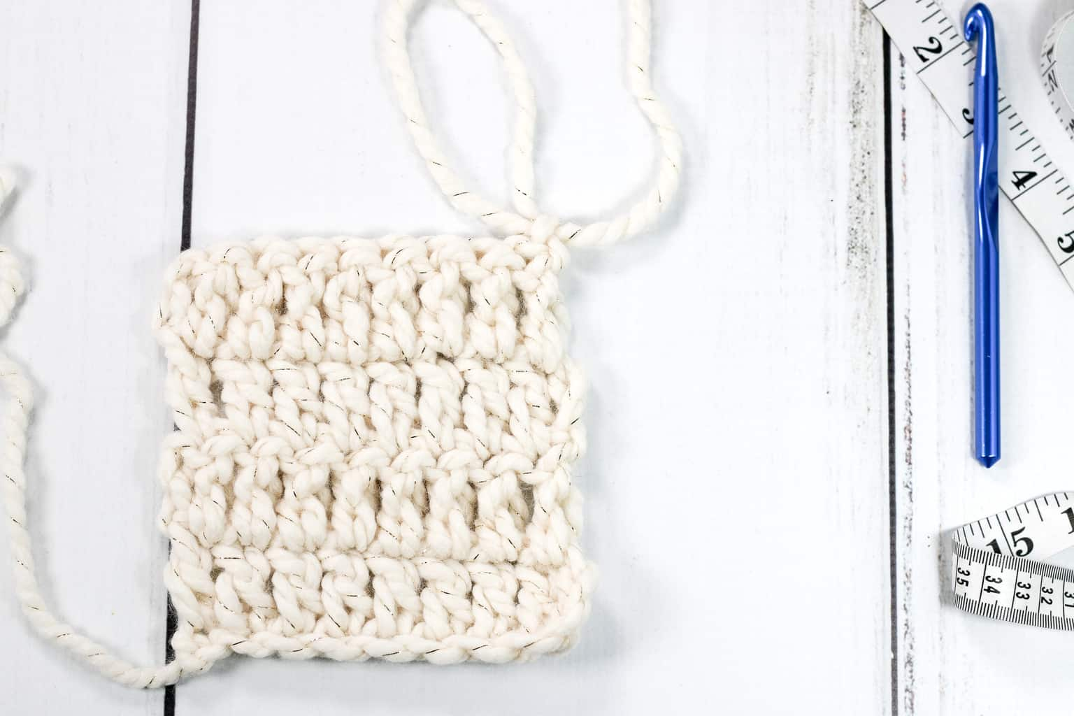 Double Crochet Square