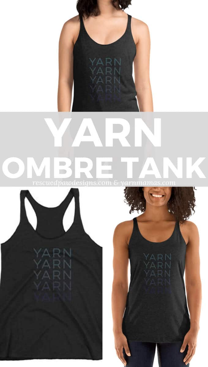 Yarn Tank for Crocheters, Knitters and Loom Weavers