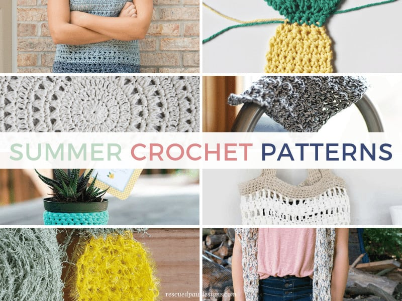 Crochet Summer Patterns that are all FREE