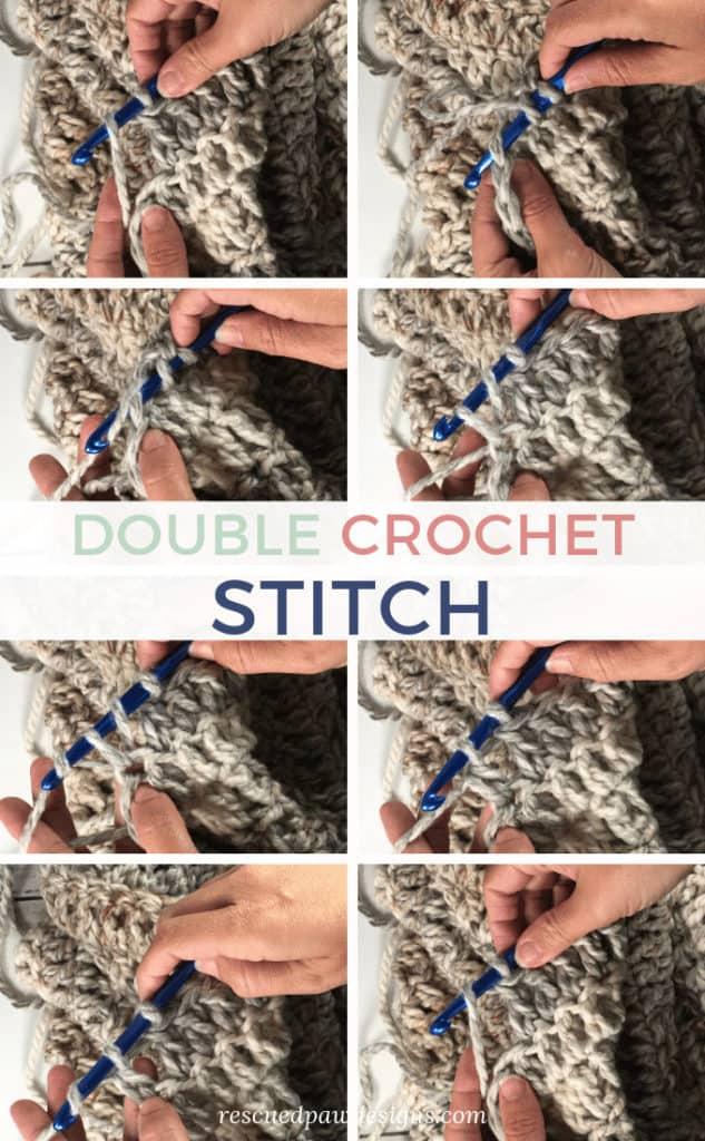 Double Crochet (DC) Stitch Picture Tutorial