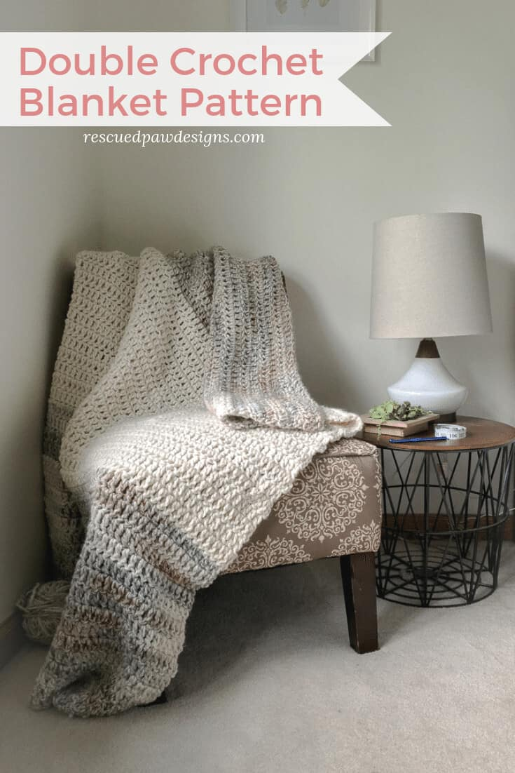 Double Crochet Blanket Pattern Free