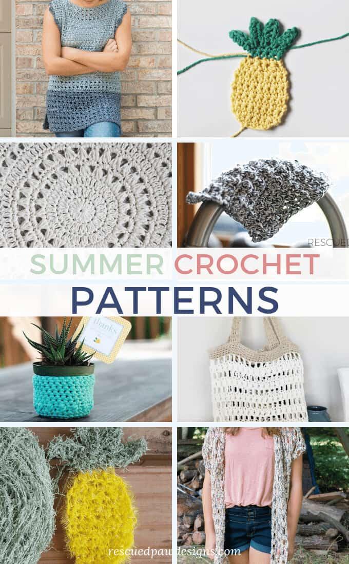 Easy & Free Crochet Summer Patterns