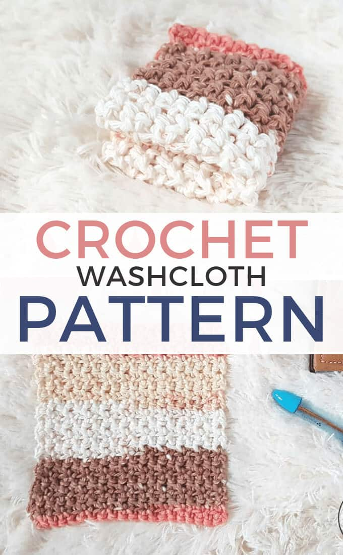Simple Crochet Washcloth Pattern Rescued Paw Designs