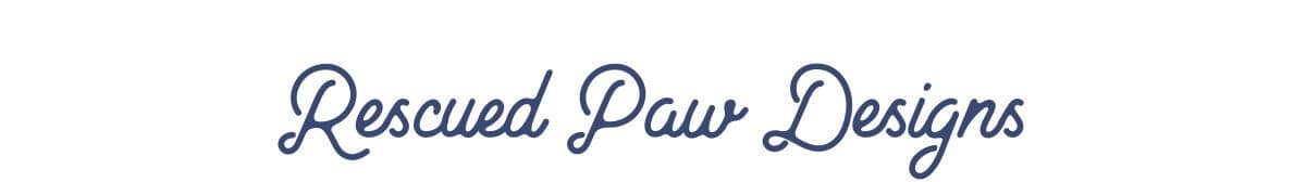 Rescued Paw Designs logo