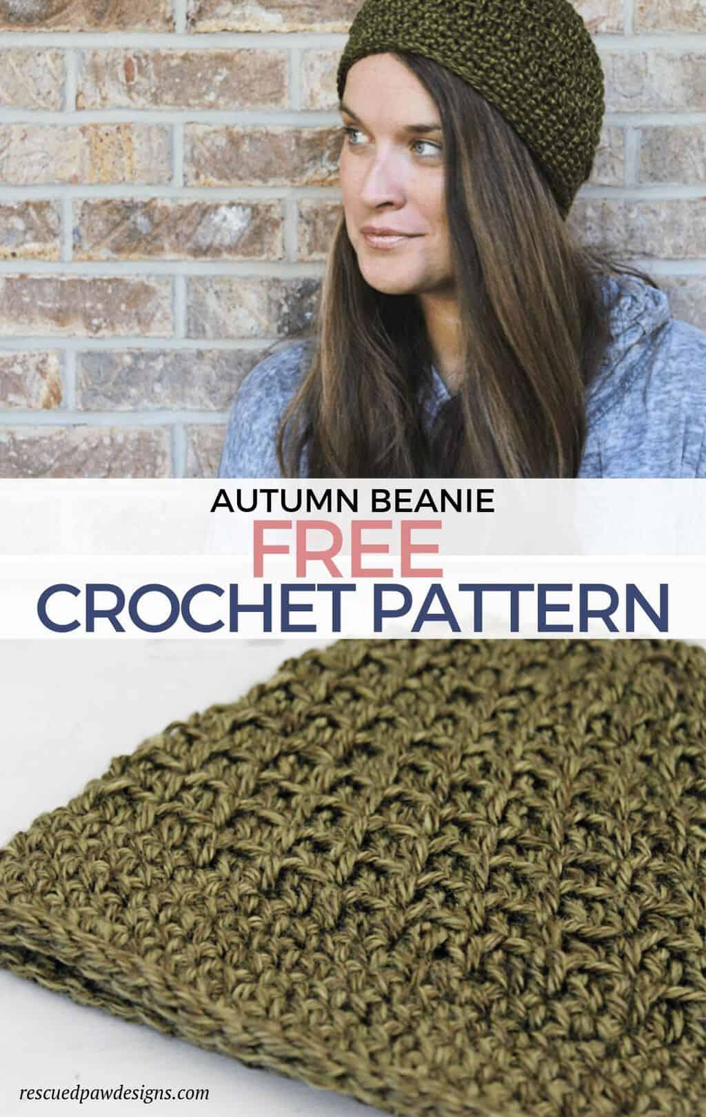 Autumn Beanie Crochet Pattern