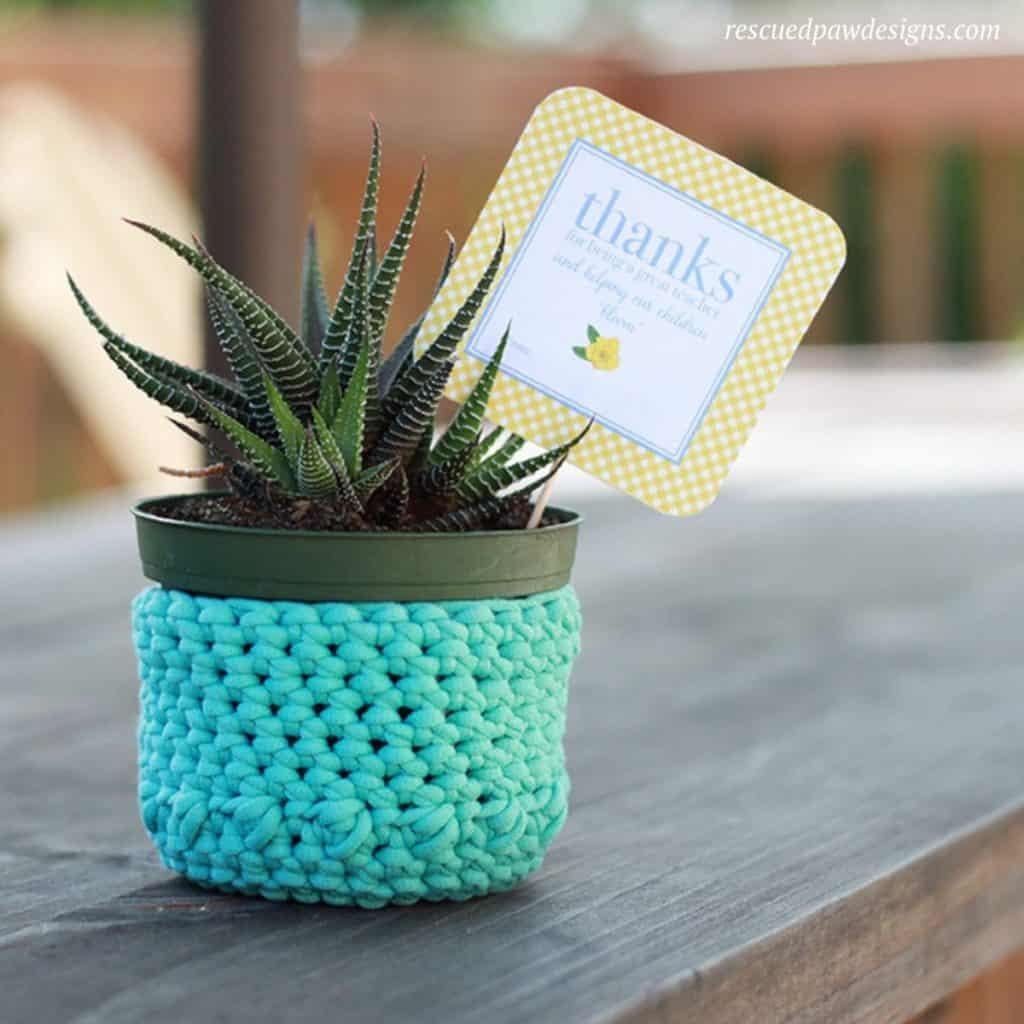 Crochet Plant Holder Pattern