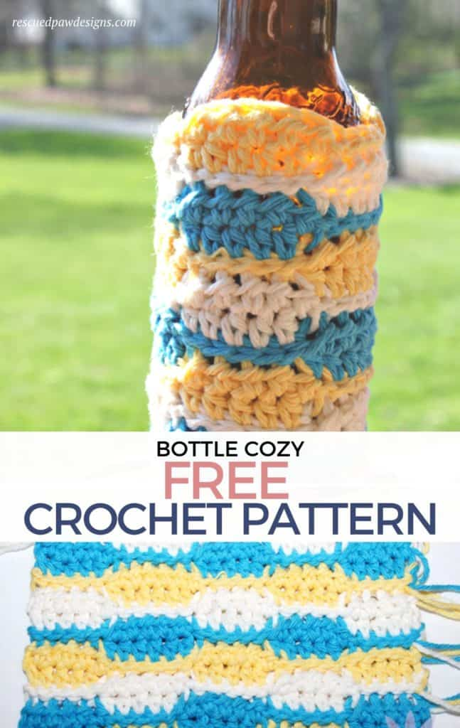 Free Bottle Cozy Crochet Pattern