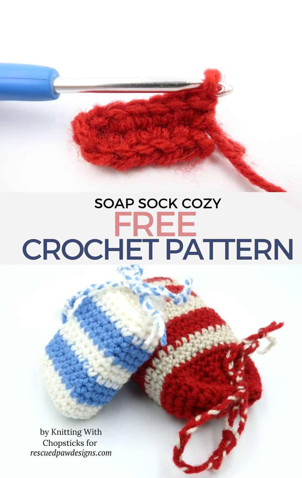 Crochet Soap Cozy Pattern