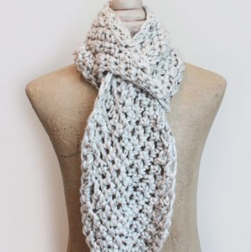adjustable scarf pattern