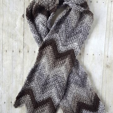 Chevron Scarf Pattern